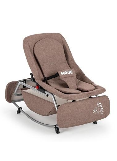 POKY Kız Erkek Bebek Sallanabilir Ana Kucağı/ Ana Dizi Kahve